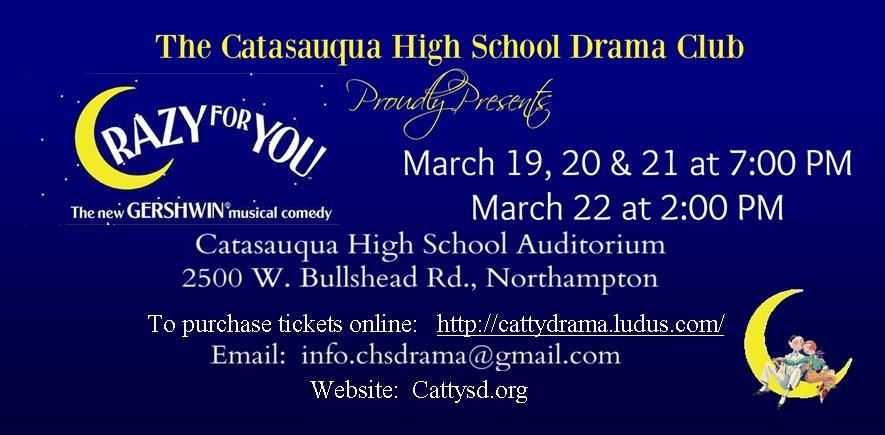 CHS Drama Club Presents Crazy for You